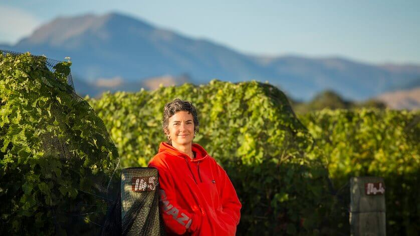 Middle-earth winemaker Trudy Shields