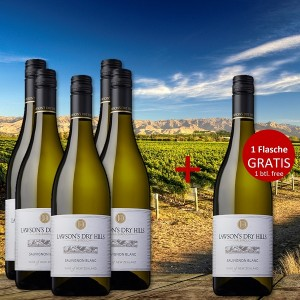 5+1 Set Lawson's Dry Hills Sauvignon Blanc 2020