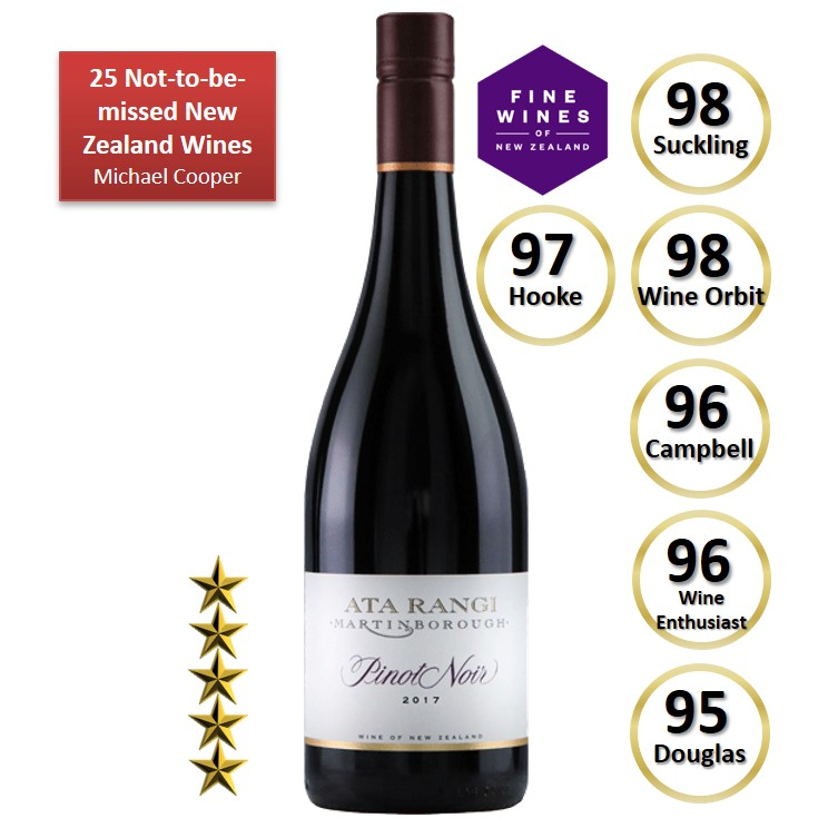 Ata Rangi Martinborough Pinot Noir 2017