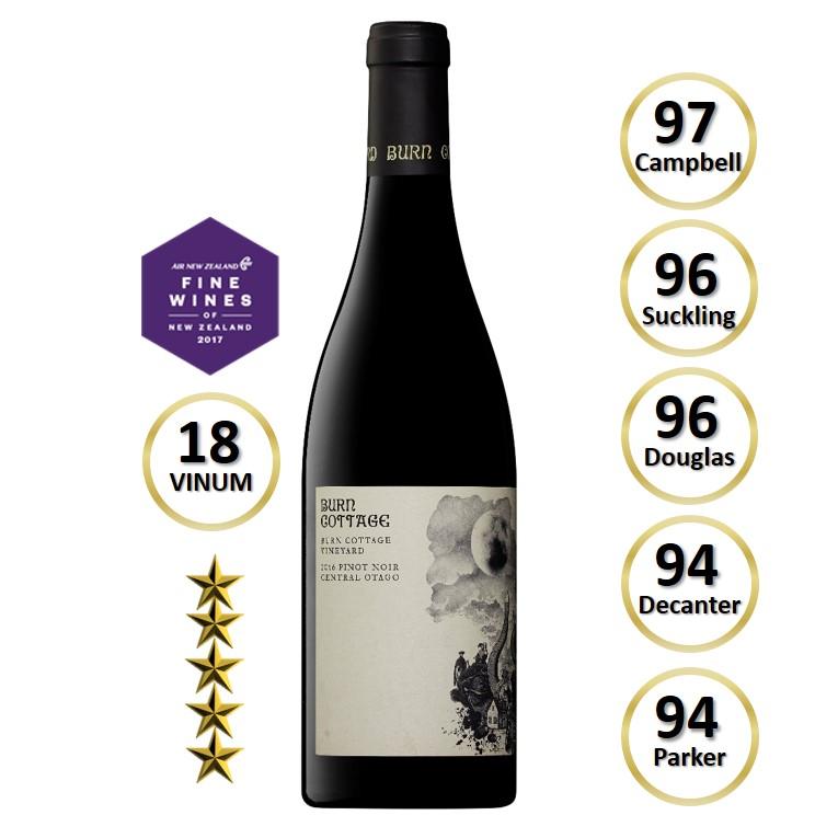 Burn Cottage Vineyard Pinot Noir 2017
