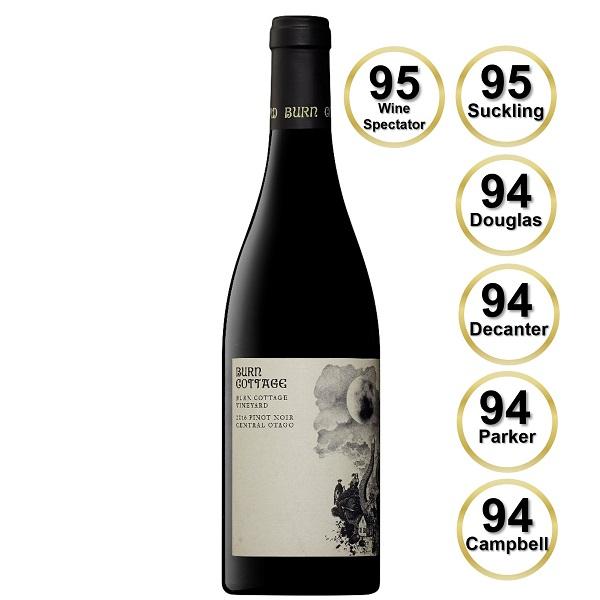 Burn Cottage Vineyard Pinot Noir 2018