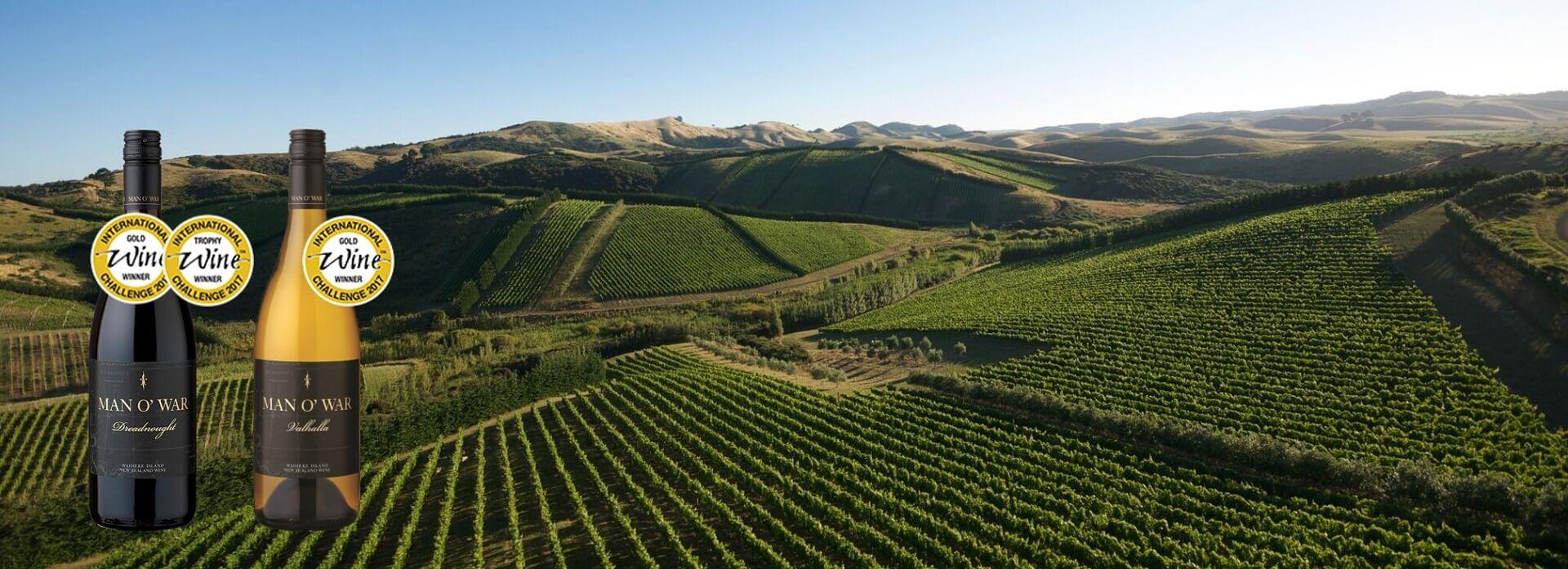 Goldweine der International Wine Challenge: Valhalla und Dreadnought von Man O' War